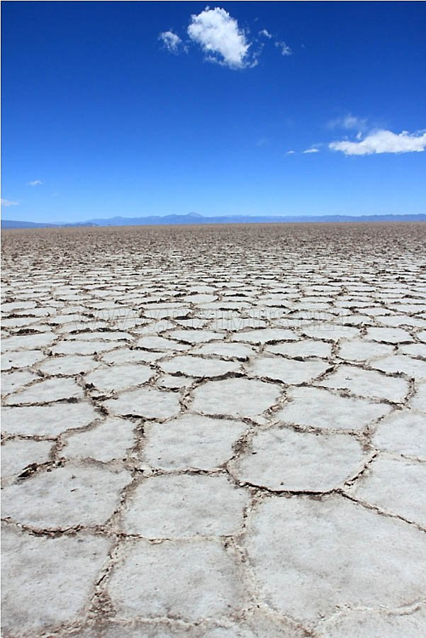 Salinas Grandes - a snow-white desert of Argentina