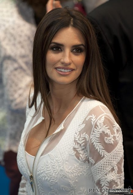 Penelope Cruz in elegant dress
