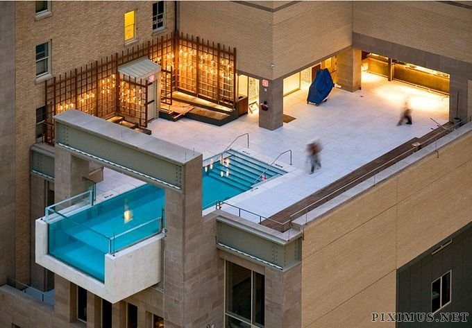 Fantastic Hanging Outdoor Pools
