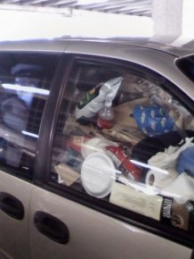Car Full of Garbage