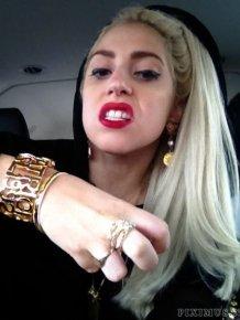 Lady Gaga Twitpics