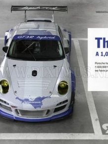 Facebook Porsche GT3 R Hybrid