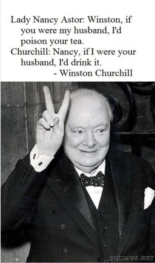 Timeless wisdom of Wiston Churchill