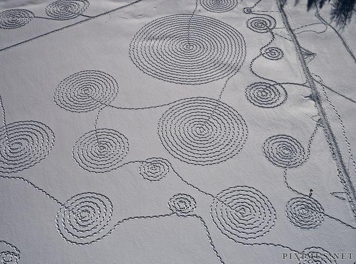 Snow Drawings