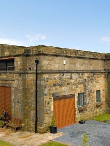 A modern house in a pumping stations in England