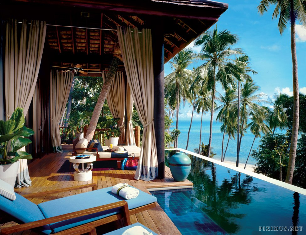 Four seasons hotel in koh samui thailand others for Hotels koh tao