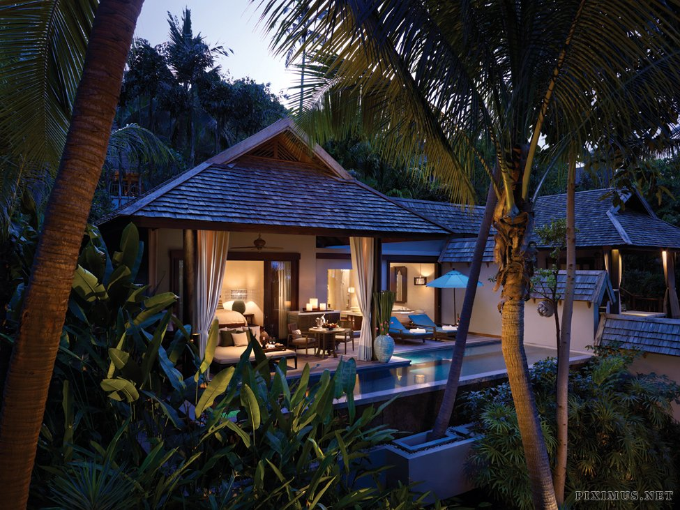 Four Seasons Hotel in Koh Samui, Thailand
