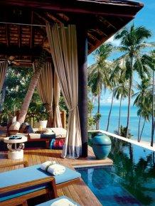 Four Seasons Hotel in Koh Samui, Thailand
