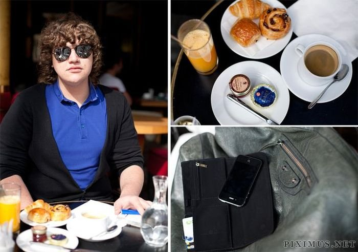 Things That People Carry and Their Breakfast