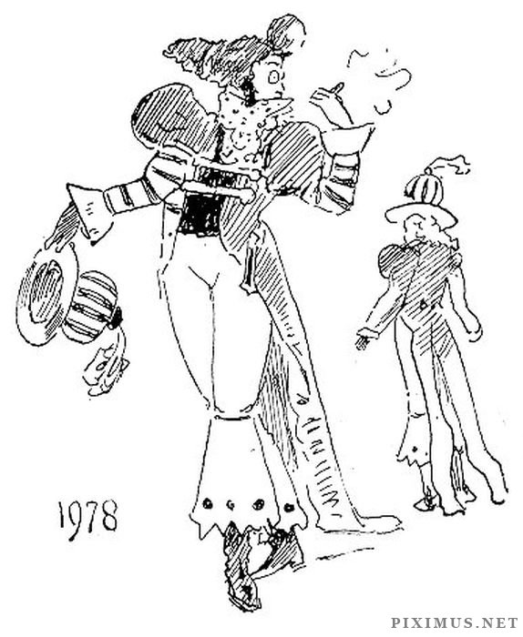 A 20th Century Fashion Vision from 1893  , part 1893