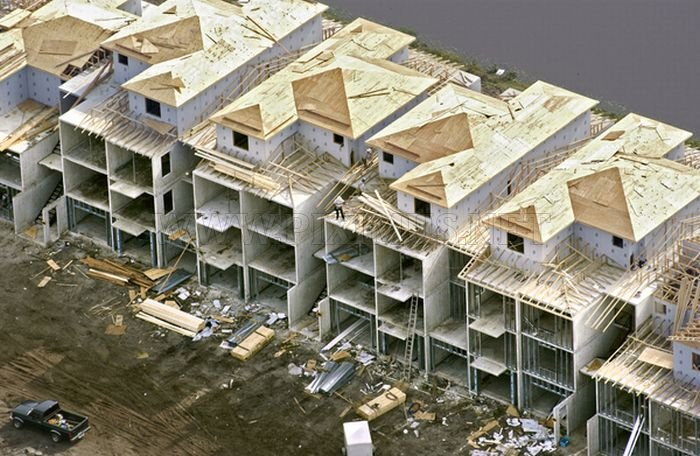 Aerial Construction Photography