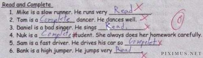 Funny Exam Answers, part 6