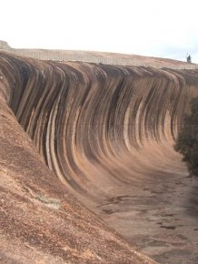 Wave Rock at Hyden, Australia