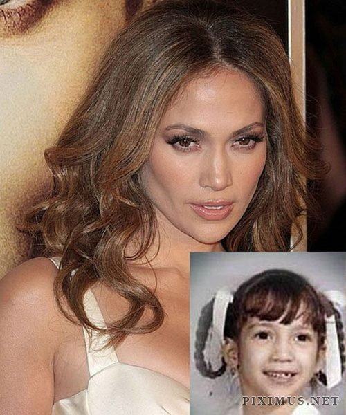 Female celebs now VS when they were just kids