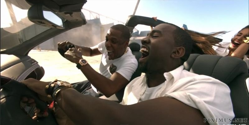 Kanye West and Jay-Z destroy a Maybach and then auction it off