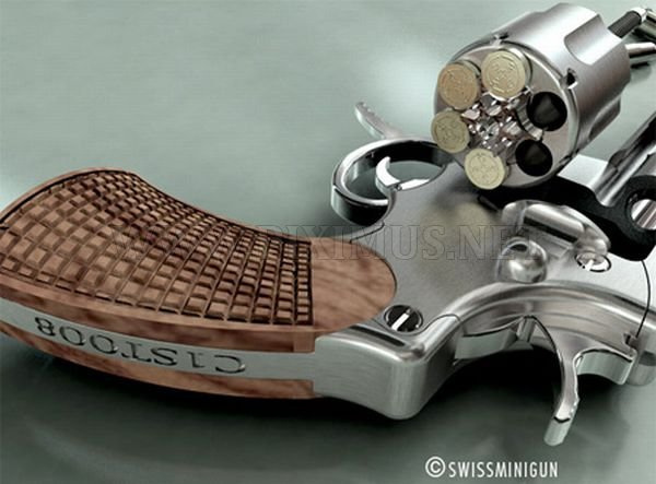 Swiss Mini Gun - World's Smallest Gun
