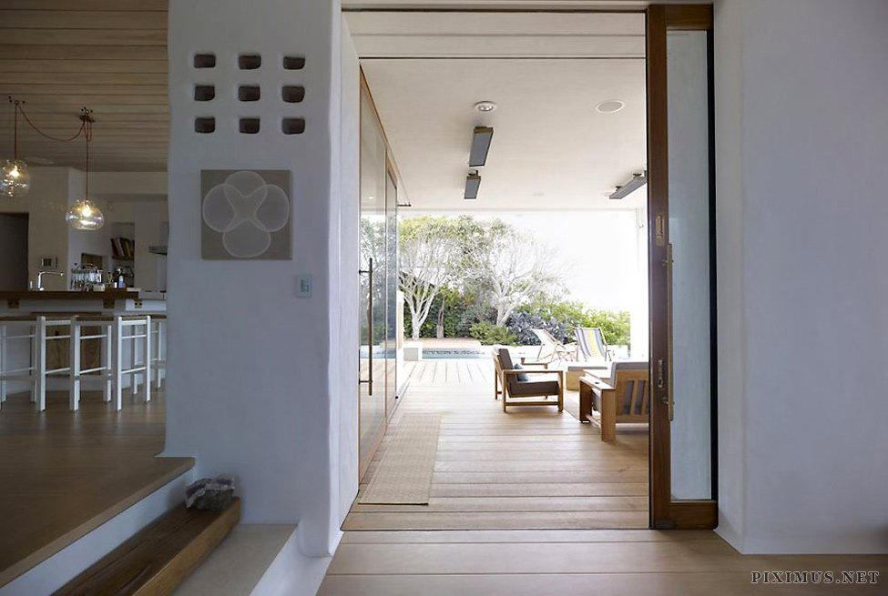 Waterfront house coogee a private residence on the beach in sydney others - Maison coogee mpr design group ...