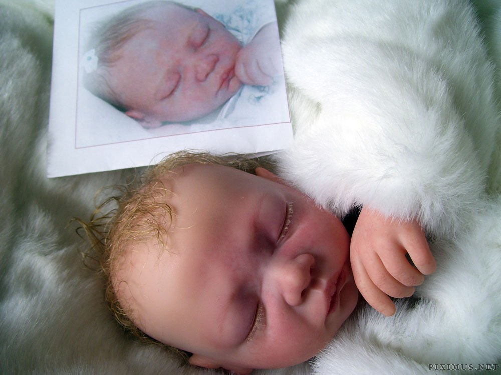 Creepy But Incredibly Realistic Reborn Baby Dolls Others
