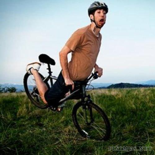 Bike Fails Fun