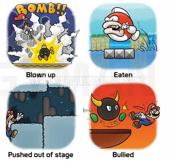 Mario's Cause of Death