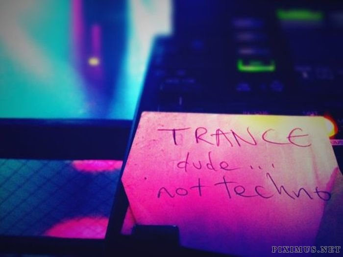 Notes & Signs Found Around the DJ Booth, part 2