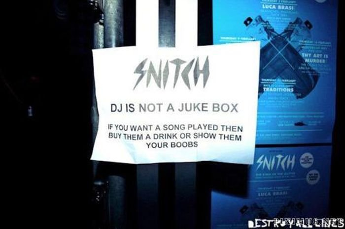 Notes Amp Signs Found Around The Dj Booth Part 2 Fun