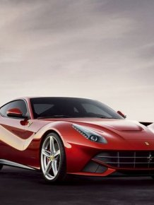Ferrari officially introduced the new model - F12 Berlinetta