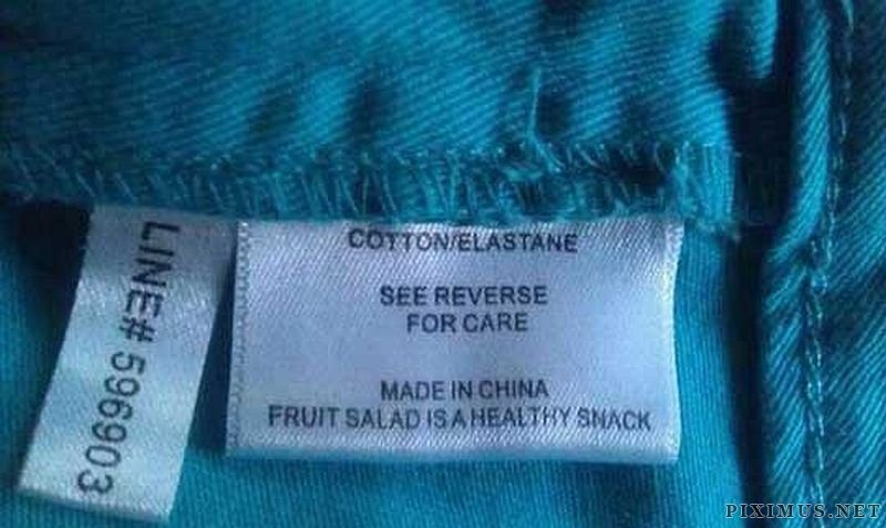 Humorous Laundry Tags