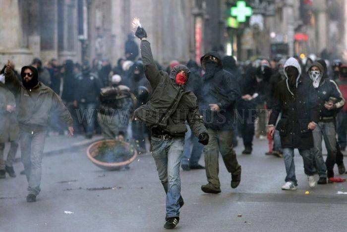 Fight in Rome