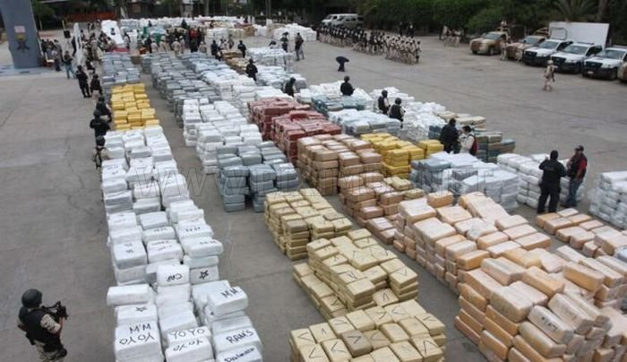 Mexico Burns 134 Tons of Confiscated Marijuana