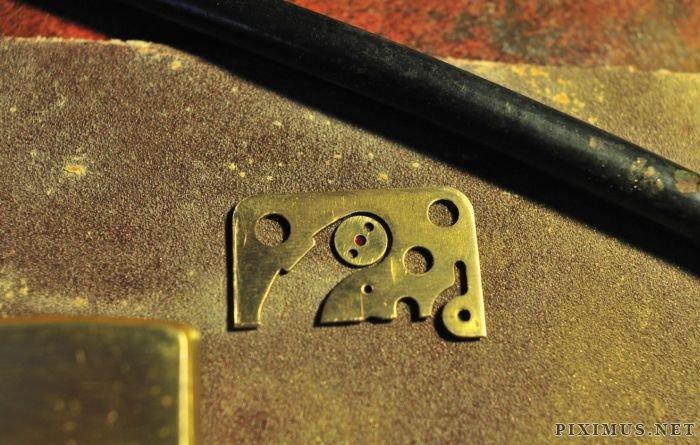 Steampunk Modified Zippo