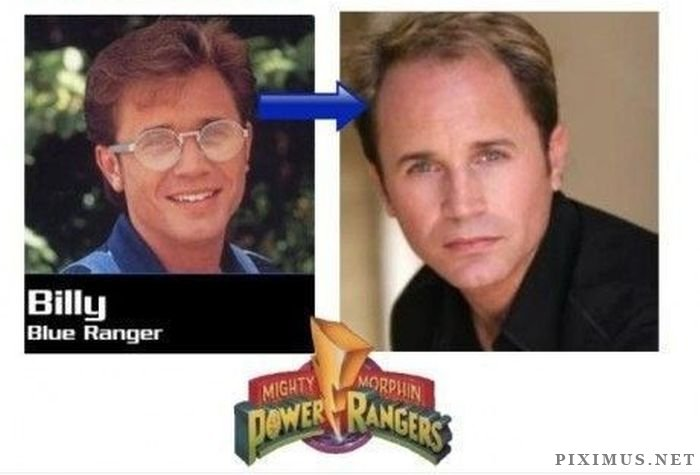 Power Rangers. Then and Now