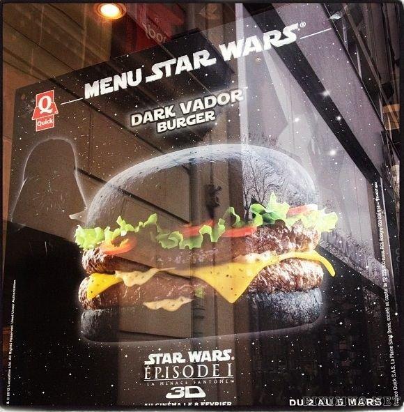Dark Vador Black Burger