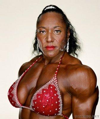 Female Bodybuilders Close-Ups
