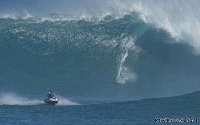 Surfing Giant Waves