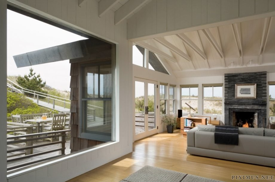 Shingled Beach Home Adds Inventive Loft On Stilts Others
