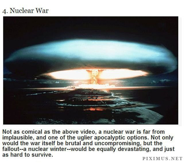 Ways The World Will Probably End