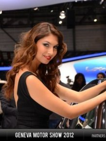 Girls of Geneva Motor Show 2012