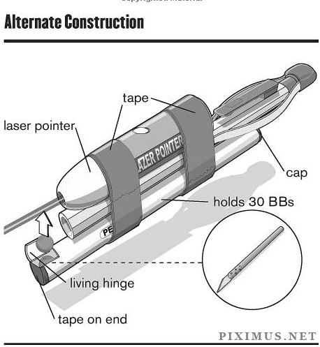 How to Build a Pencil Gun