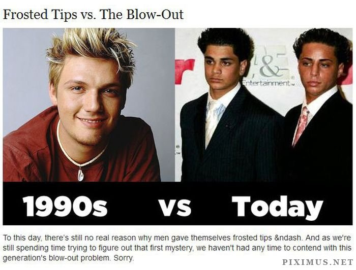 What Was Cool in the 90s Vs. Cool Today