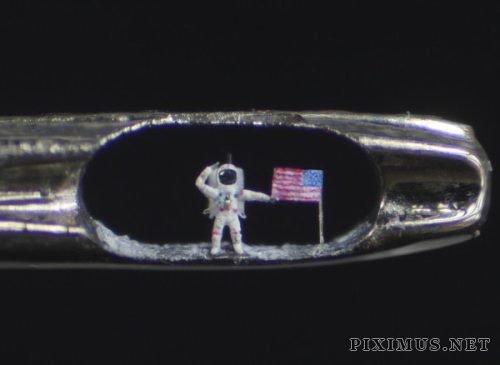 Micro-sculptures by Willard Wigan
