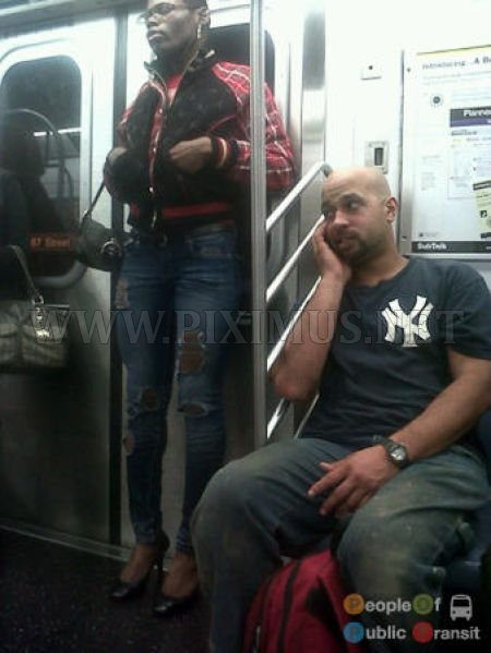 Strange People in Metro
