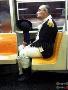 Strange People in Metro