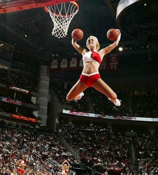 slam dunking nba girls  part 2
