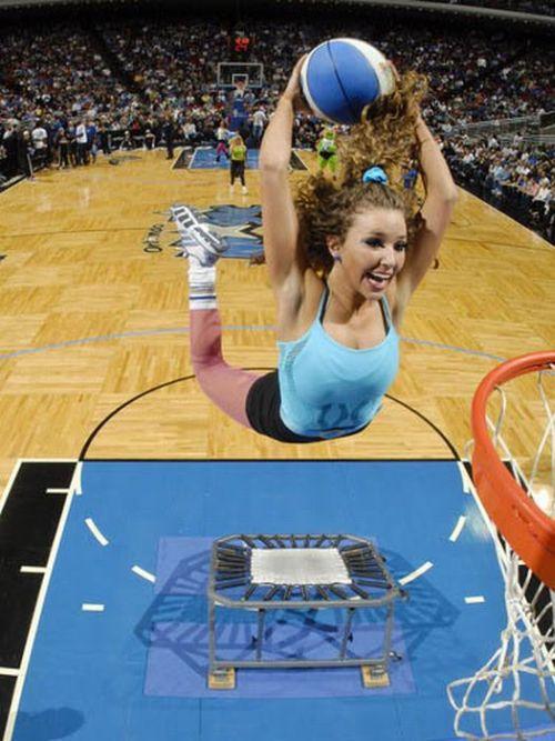 Slam Dunking NBA Girls, part 2