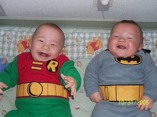 Babies in costumes