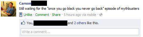 Memorable Facebook Status Updates