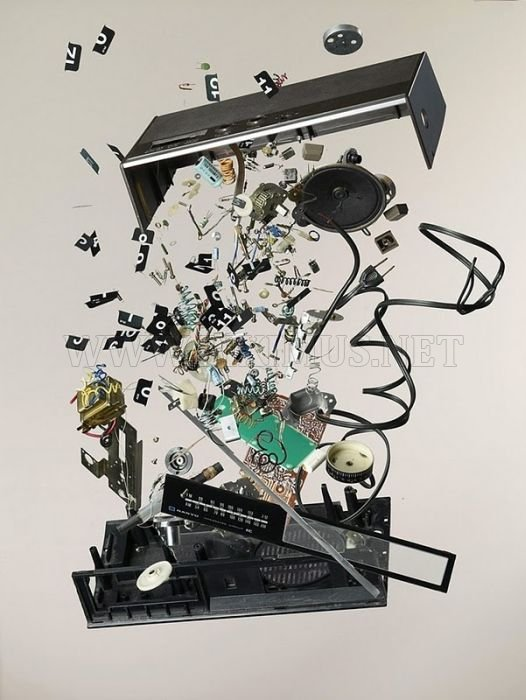 Disassembled Objects by Todd McLellan