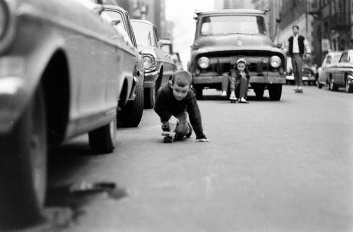 NYC Skateboarding in 1960  , part 1960
