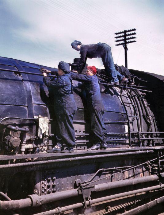 American Railroads of the 1940s